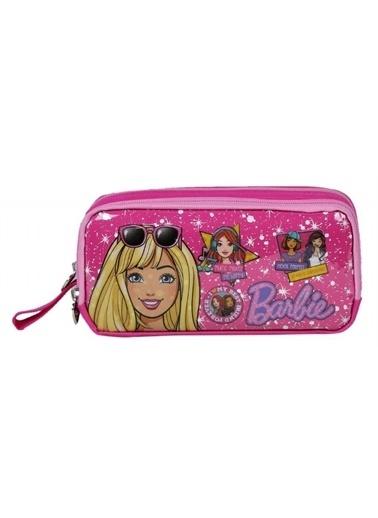 Barbie Barbie İki Bölmeli Kalem Çantası - Hakan 96806 Renkli